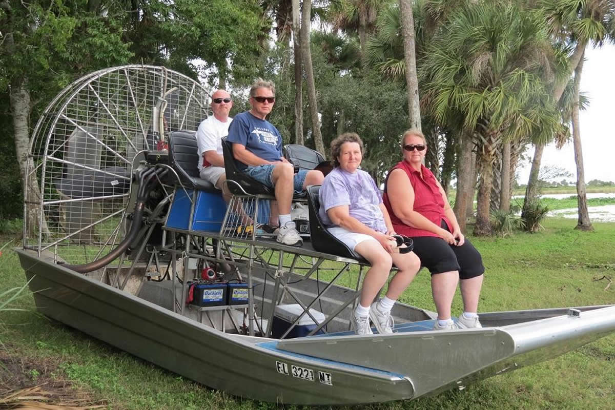 Viewing Native Mammals on an Airboat Ride From Orlando