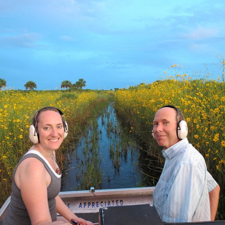 Airboat Rides with Switchgrass