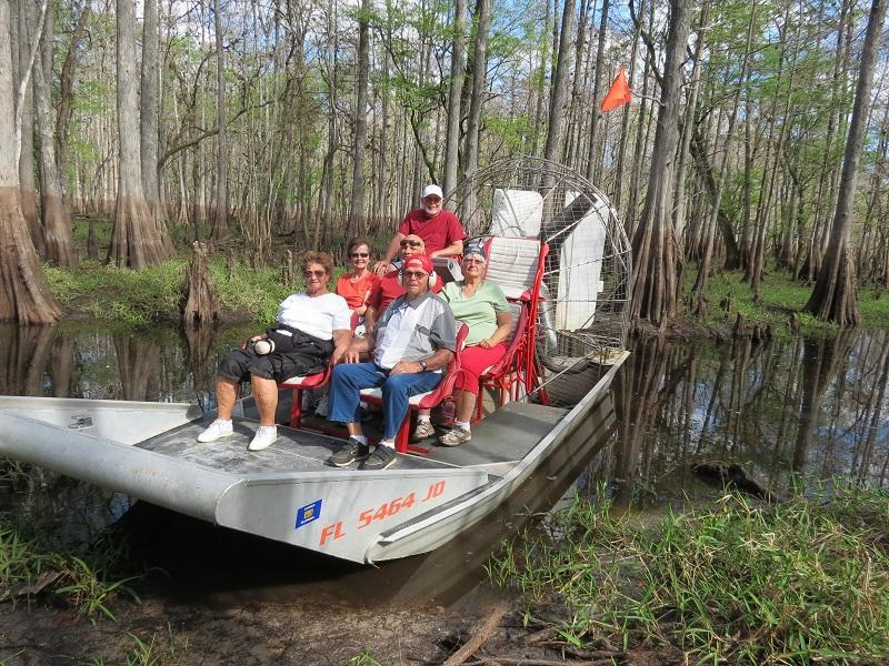 Switchgrass Outfitters Airboat Tours
